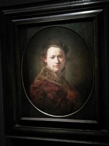 Selbstbildnis des Künstlers Rembrandt