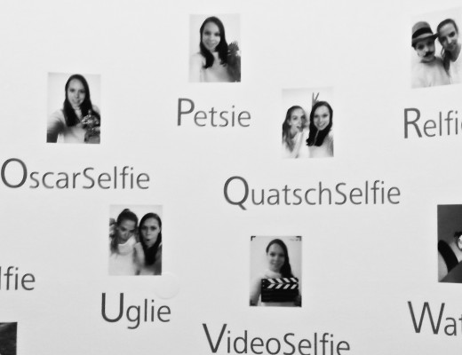 Verschiedene Arten von Selfies
