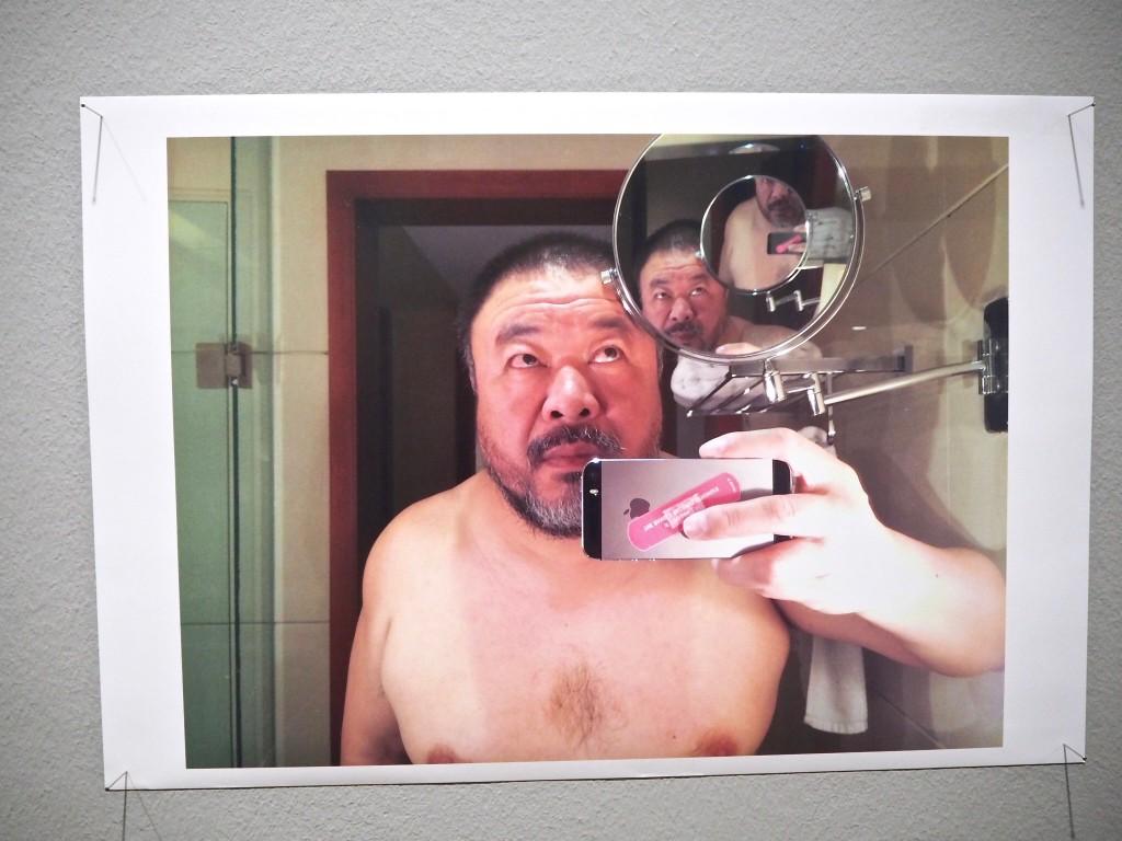 Mirror Selfie Ai Weiwei