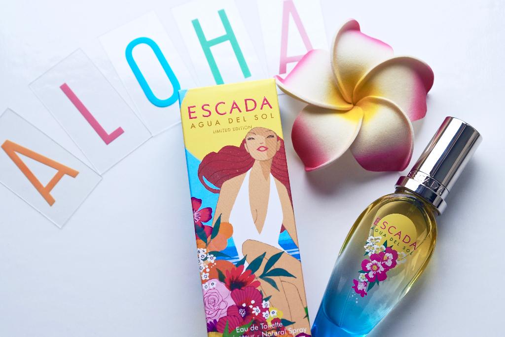 Produkttest und Verlosung des Escada Sommer Parfums Agua del Sol bei Julie en Rose.